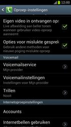 Samsung I9300 Galaxy S III - Voicemail - Handmatig instellen - Stap 4