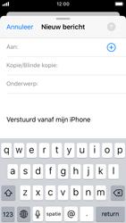 Apple iphone-se-met-ios-13-model-a1723 - E-mail - Hoe te versturen - Stap 4