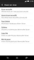 HTC Desire 816 - Sécuriser votre mobile - Activer le code de verrouillage - Étape 6