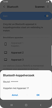 Samsung galaxy-note-9-sm-n960f-android-pie - Bluetooth - Headset, carkit verbinding - Stap 8