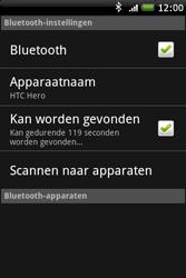 HTC A6262 Hero - bluetooth - aanzetten - stap 6