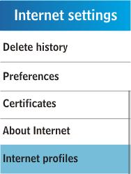 Samsung C3300K - Internet - Manual configuration - Step 6