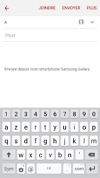 Samsung J500F Galaxy J5 - E-mail - envoyer un e-mail - Étape 4