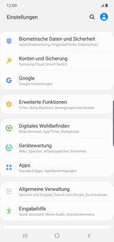 Samsung Galaxy Note 10 Plus 5G - Startanleitung - So aktivieren Sie eine SIM-PIN - Schritt 4