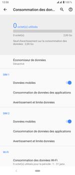 Sony Xperia 5 - Internet et roaming de données - Comment vérifier que la connexion des données est activée - Étape 8