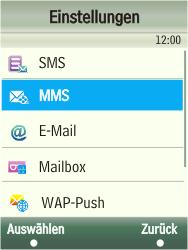 Samsung F480-TouchWiz - MMS - Manuelle Konfiguration - Schritt 6