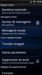 Sony Xperia Arc - Messagerie vocale - Configuration manuelle - Étape 5
