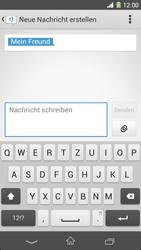 Sony Xperia Z1 - MMS - Erstellen und senden - 13 / 22