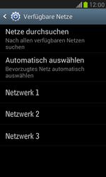 Samsung Galaxy S III Mini - Netzwerk - Manuelle Netzwerkwahl - Schritt 9