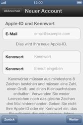 Apple iPhone 3GS - Apps - Einrichten des App Stores - Schritt 8