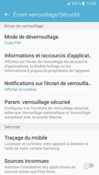 Samsung Samsung Galaxy J7 (2016) - Sécuriser votre mobile - Activer le code de verrouillage - Étape 12