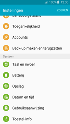 Samsung Galaxy J3 (SM-J320FN) - Instellingen aanpassen - Back-up maken in je account - Stap 4