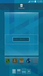 Samsung G850F Galaxy Alpha - Startanleitung - Installieren von Widgets und Apps auf der Startseite - Schritt 6