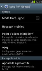 Samsung Galaxy S III Mini - Internet et roaming de données - Comment vérifier que la connexion des données est activée - Étape 5