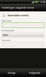 HTC T320e One V - E-mail - Handmatig instellen - Stap 14