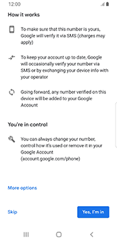 Samsung Galaxy S9 - Android Pie - Applications - Setting up the application store - Step 14