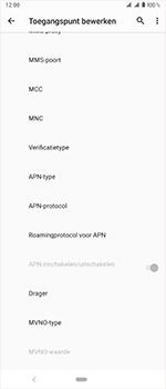 Sony Xperia 1 - Internet - handmatig instellen - Stap 16