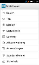 Alcatel One Touch Pop C3 - Apps - Eine App deinstallieren - Schritt 4