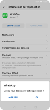 Huawei P Smart Z - Applications - Supprimer une application - Étape 7