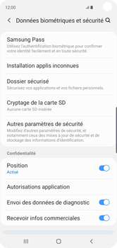 Samsung Galaxy S10 - Prise en main - Comment activer un code SIM - Étape 5