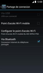 Bouygues Telecom Bs 403 - Internet et connexion - Partager votre connexion en Wi-Fi - Étape 10