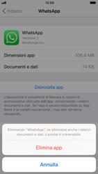 Apple iPhone 8 - iOS 12 - Applicazioni - Come disinstallare un