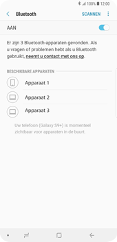 Samsung Galaxy S9 Plus (SM-G965F) - Bluetooth - Headset, carkit verbinding - Stap 7