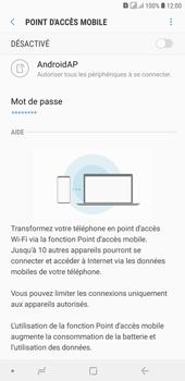 Samsung Galaxy J4+ - Internet et connexion - Partager votre connexion en Wi-Fi - Étape 11