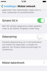 Apple iPhone 4 iOS 7 - Internet - Handmatig instellen - Stap 5