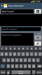 Samsung Galaxy S4 Active - MMS - Erstellen und senden - 0 / 0