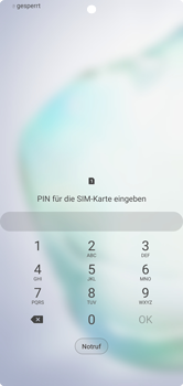 Samsung Galaxy Note 10 Plus 5G - Gerät - Einen Soft-Reset durchführen - Schritt 4