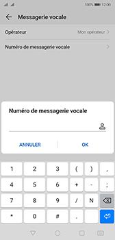 Huawei P20 Android Pie - Messagerie vocale - Configuration manuelle - Étape 8