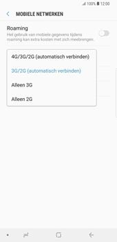 Samsung Galaxy S9 Plus - Netwerk - Wijzig netwerkmodus - Stap 7