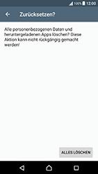 Sony Xperia X Performance - Fehlerbehebung - Handy zurücksetzen - 2 / 2