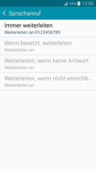 Samsung Galaxy A5 - Anrufe - Rufumleitungen setzen und löschen - 11 / 12
