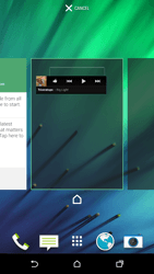 HTC One M8 - Getting started - Installing widgets and applications on your start screen - Step 6