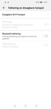 Huawei Y5 (2019) - Internet - mijn data verbinding delen - Stap 5