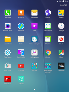 Samsung Galaxy Tab A 9.7 - Internet - Navigation sur Internet - Étape 2