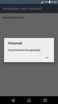 Sony Xperia XA Ultra (F3211) - voicemail - handmatig instellen - stap 9