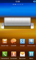 Samsung S8600 Wave 3 - E-mail - e-mail instellen: POP3 - Stap 1