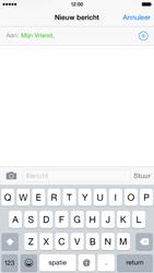 Apple iPhone 6 - MMS - Afbeeldingen verzenden - Stap 6