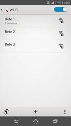 Sony Xperia Z3 - WiFi - Configurazione WiFi - Fase 8