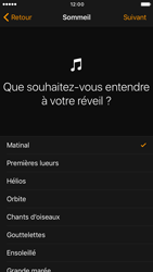 Apple iPhone 6 iOS 10 - iOS features - Coucher - Étape 9