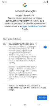 Samsung Galaxy Note20 Ultra 5G - Applications - Créer un compte - Étape 19