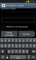 Samsung S7390 Galaxy Trend Lite - E-mail - Configuration manuelle - Étape 7