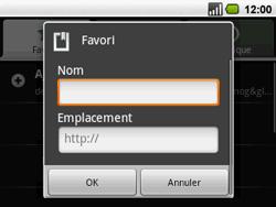 Acer BeTouch E130 - Internet - navigation sur Internet - Étape 11
