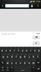 HTC One - Contact, Appels, SMS/MMS - Envoyer un SMS - Étape 5