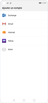Huawei Nova 5T - E-mail - configuration manuelle - Étape 5