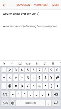 Samsung Galaxy J7 (2016) (J710) - e-mail - hoe te versturen - stap 11