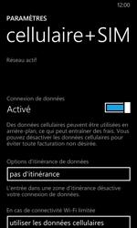 Nokia Lumia 635 - Internet et roaming de données - Désactivation du roaming de données - Étape 7